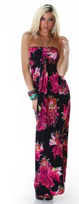 robe longue articles de la categorie quotrobe longuequot With affiche chambre bébé avec robe tunique fleurie